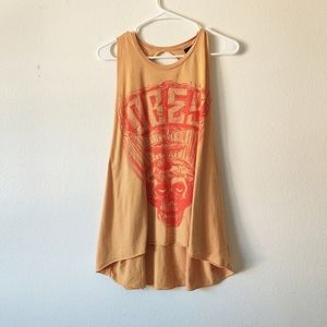 Obey graphic tank top